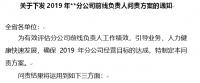2019营业单位负责人三级机构营业区负责人问责方案31页.docx