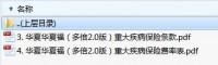 华夏华夏福多倍2.0版重大疾病保险条款费率.zip
