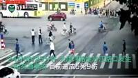 配套视频5死9伤上海发生一起交通事故现场.rar