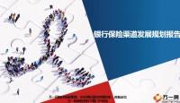 分公司银行保险渠道2019年度总结及2020发展规划报告30页.ppt