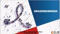 分公司创新业务渠道2019年终总结及2020发展规划报告13页.ppt