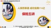 人保百事通7成功宝典114之保险五讲重要性内容演练通关63页.pptx