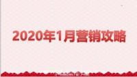 2020年1月营销工作主题目标节奏举措20页.pptx