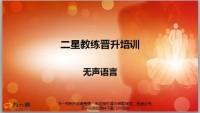 二星教练晋升培训无声语言运用技巧原则45页.pptx