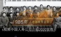 视频中国人寿公司介绍2020宣传片.rar