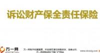 阳光人寿诉讼财产保全责任保险背景介绍产品销售渠道业务操作指引29页.ppt