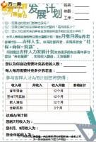 新人发展计划产品销售增员目标模板2页.pptx