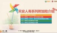 天安人寿系列附加险介绍销售意义产品形态投保案例59页.pptx
