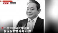 视频韩国首富三星集团会长李健熙去世继承人或将承担70亿美元遗产税.rar