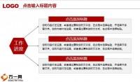 动态红白色工作总结汇报PPT模板35页.pptx