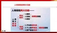 六图全面解析保险的功能与作用20页.pptx
